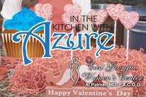 In the Kitchen with Azure - Chicken Alfredo Lasagna and Valentine Rice Krispie Treat Pops