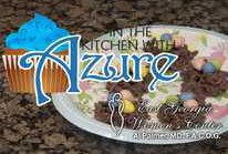 In the Kitchen with Azure - Corn Casserole and Easter themed Chocolate Bird Nests