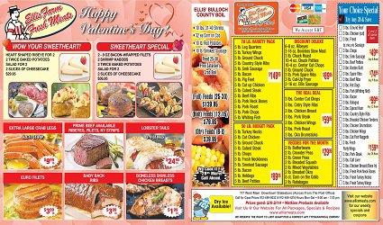 Ellis Meat Market Print