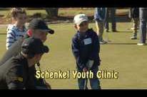 Schenkel Youth golf clinic
