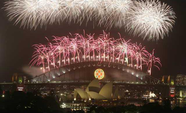 Australia New Year Heal