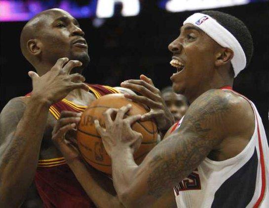 Cavaliers Hawks Baske Heal