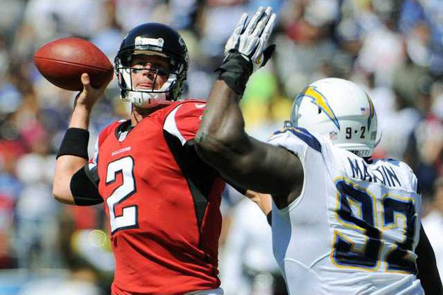 Falcons Chargers Foot Heal