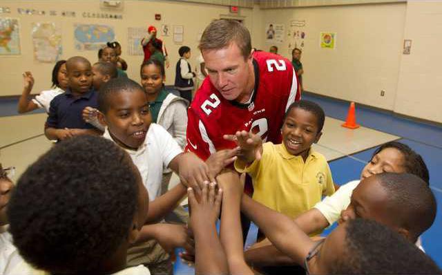 Falcons School Visit  Heal