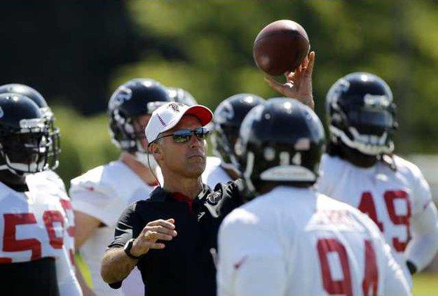 Falcons Training Camp Heal