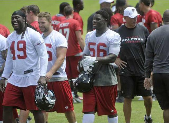 Falcons Weatherspoon  Heal