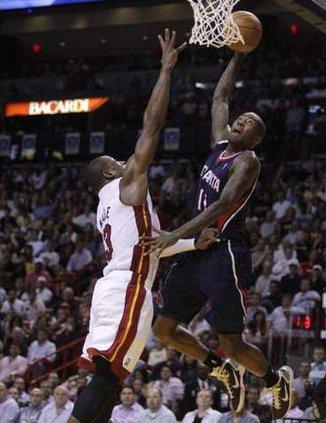 Hawks Heat Basketball Heal
