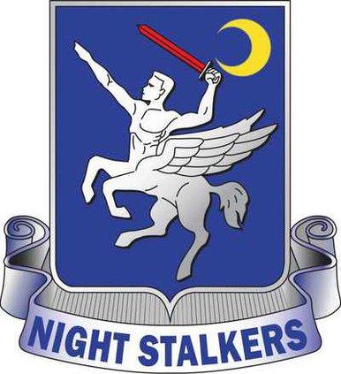 160 SOARA Nightstalker Crest