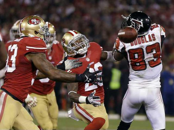 APTOPIX Falcons 49ers Heal