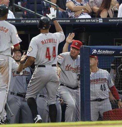 Astros Braves Basebal Heal