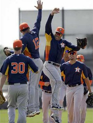 Astros Spring Basebal Heal