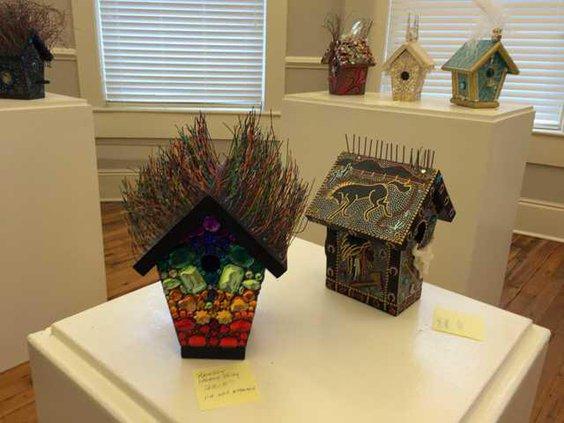 Birdhouse Exhibit