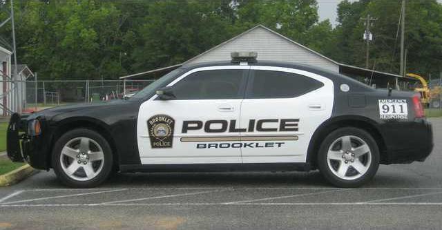 Brooklet police car