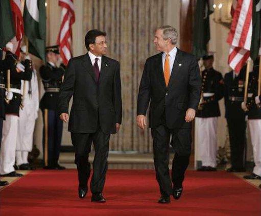 Bush Musharraf Heal