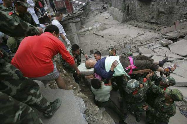 China Earthquake XO 5462471