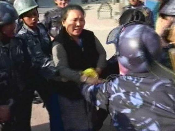 China Tibet Protest Heal