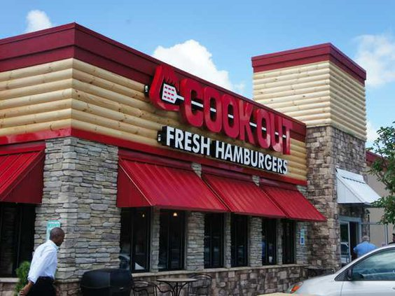 Cook Out web