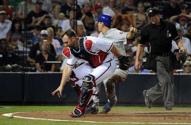 Cubs Braves Baseball Heal