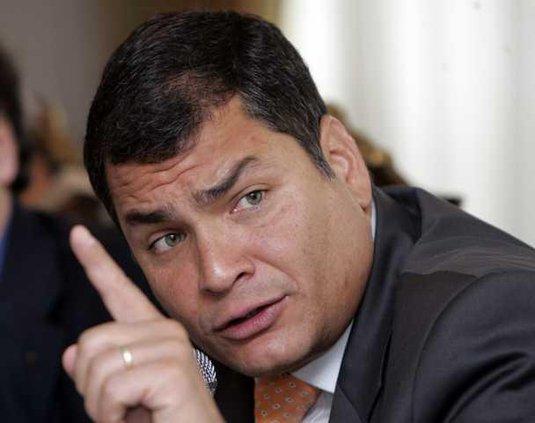 Ecuador Politics NY 7539978