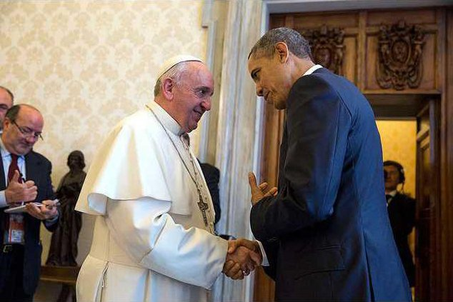 Francis and Obama