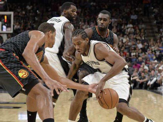 Hawks Spurs Basketbal Heal WEB