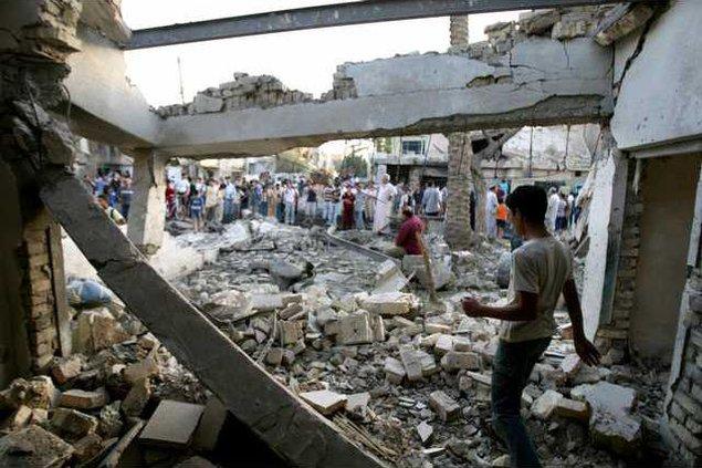 IRAQ BOMBING BAG116 5275464