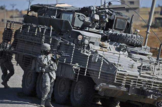 IRAQ US TROOPS BAG1 5597591