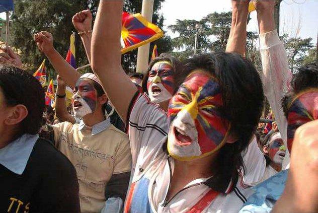 India Tibet Protest 5103596
