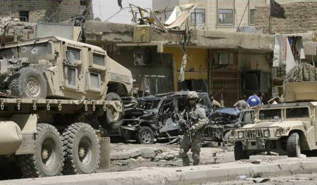 Iraq Car Bomb BAG10 5893914