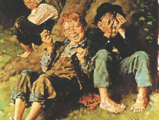Lead T.Sawyer paint web