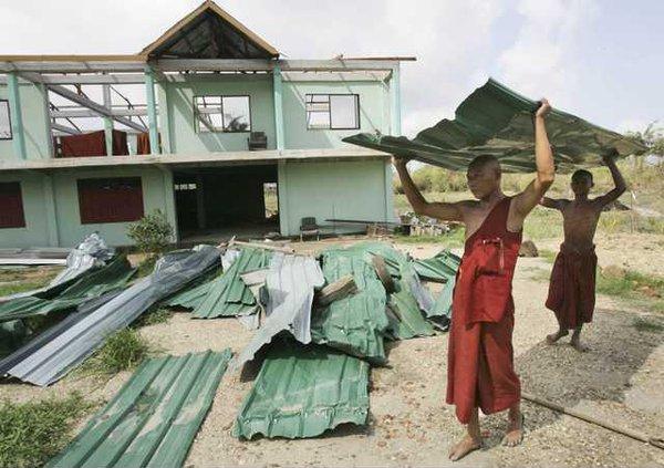Myanmar Cyclone MYN 5084683