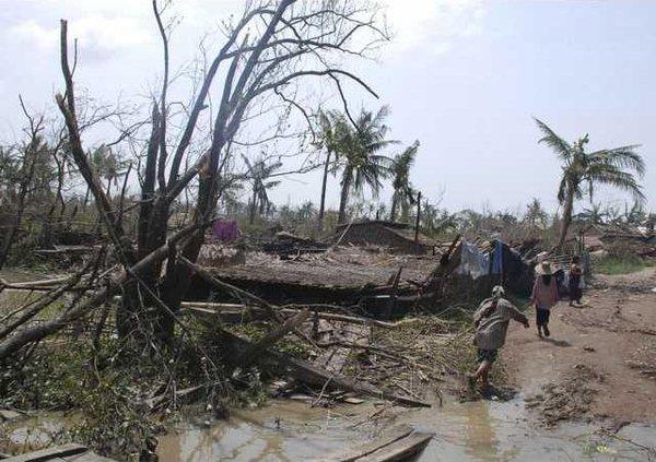 Myanmar Cyclone MYN 5523150