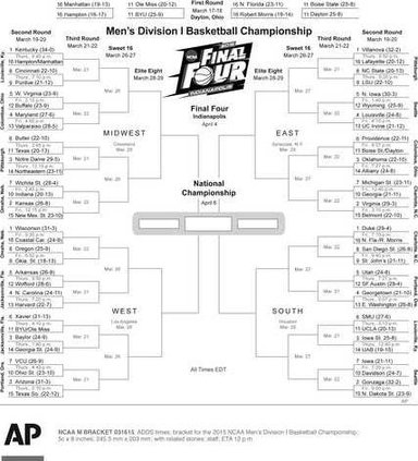 NCAA M BRACKET Heal 1