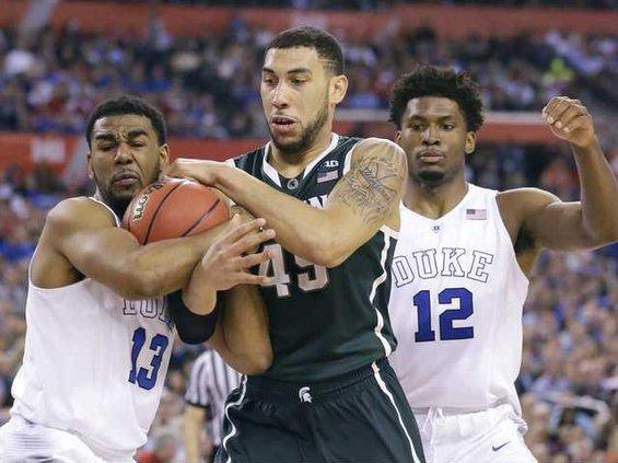 NCAA Michigan St Duke Heal