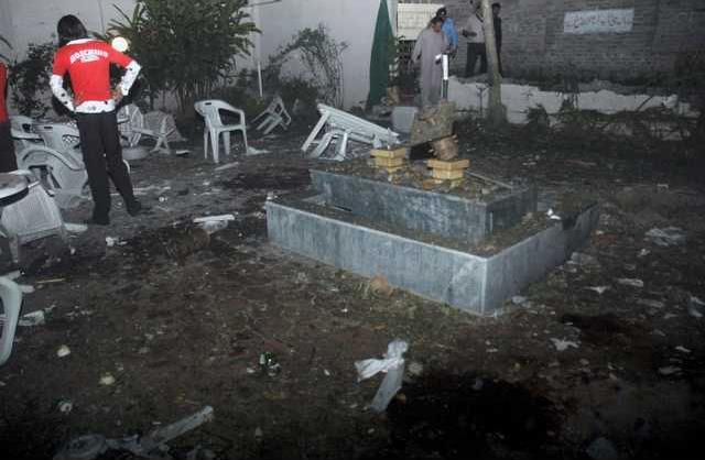 Pakistan Explosion Heal