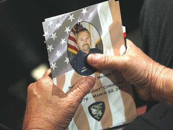 Police Officer Shot Heal