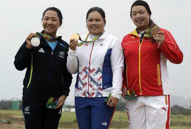 Rio Olympics Golf Wom Heal WEB
