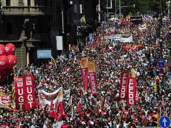 Spain Financial Crisi W