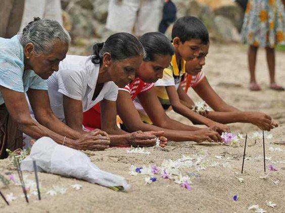 Sri Lanka Tsunami Ann Heal W