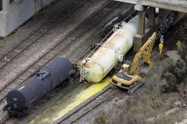 Train Derailment LA 7343477