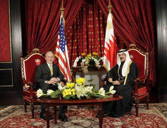 US Bush Mideast BHR 5738902