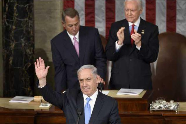 US Israel Netanyahu Werm