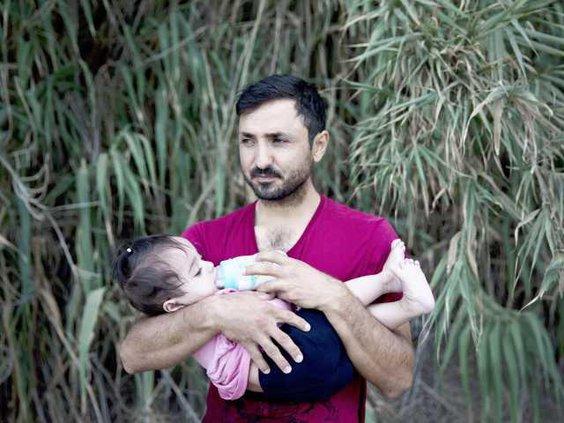 W APTOPIX Greece Migran Heal