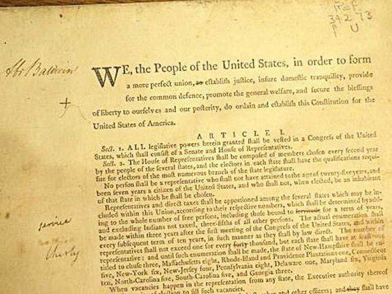 W Baldwin Constitution