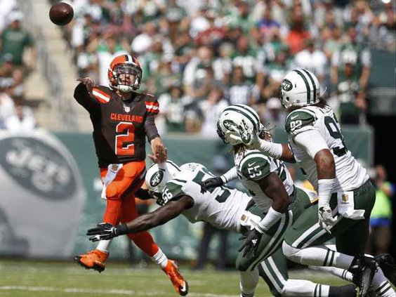 W Browns Jets Football Heal