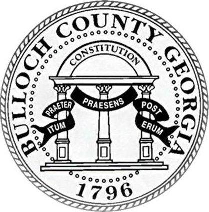 W Bulloch County Seal