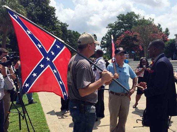 W Confederate Flag Deba Heal