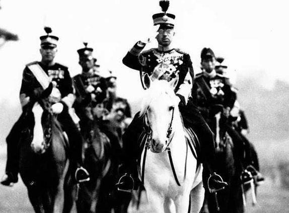 W Japan WWII Hirohito S Ledb