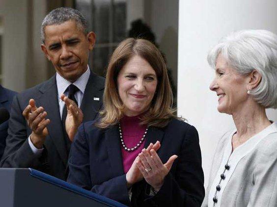 W Obama Health Secretar Werm