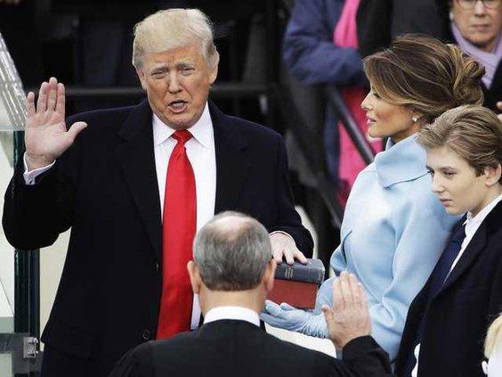 W President Trump